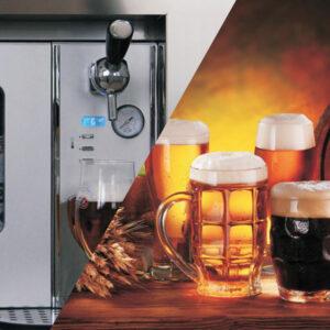 Built-in beer dispenser