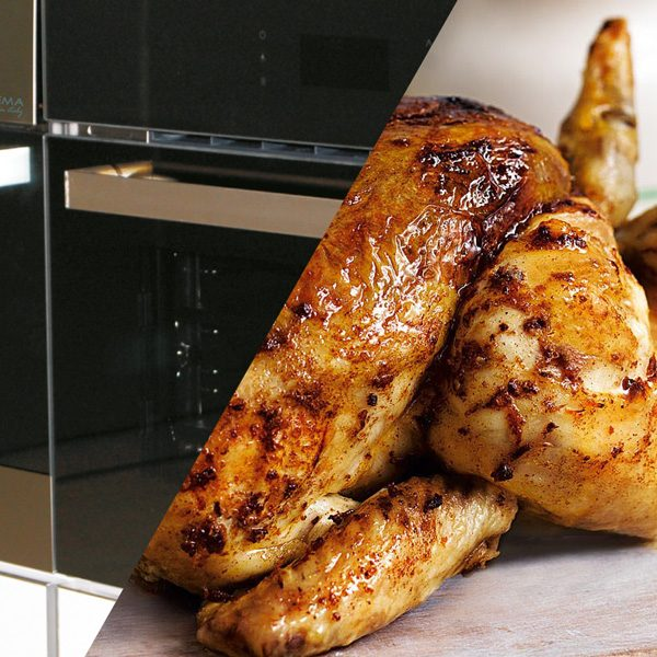Built-in multifunction oven with steam and ionizer