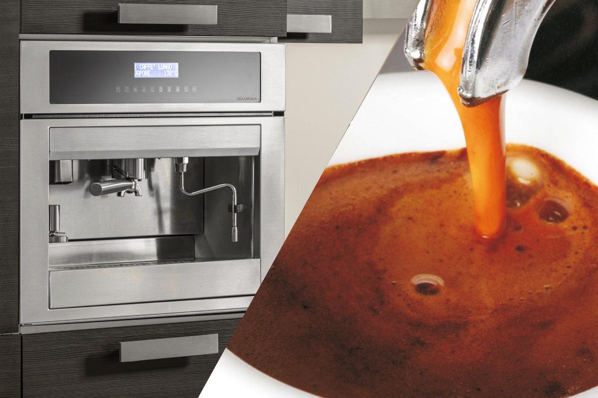 Built In Multifunction Coffee Machine Diadema Italy
